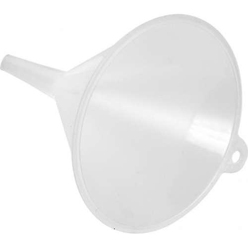 Lejek plastikowy biały fi 10 cm.