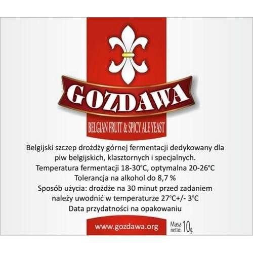 Gozdawa - Belgian Fruit i Spice Ale Yeast 10g