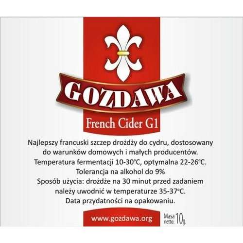 Gozdawa - French Cider G1 10g