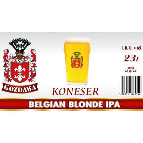 Gozdawa - Belgian Blonde IPA - Seria Koneser