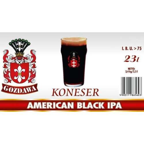 Gozdawa - American Black IPA - Seria Koneser