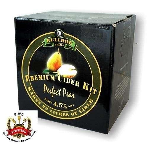 BULLDOG  Perfect Pear Cider Kit  3,0 kg  zestaw do wyrobu 23 litrów cydru gruszkowego