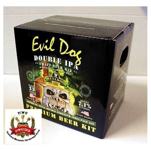 BULLDOG Craft  Evil Dog (Double IPA) brew-kit 4,7 kg (23 litry piwa)