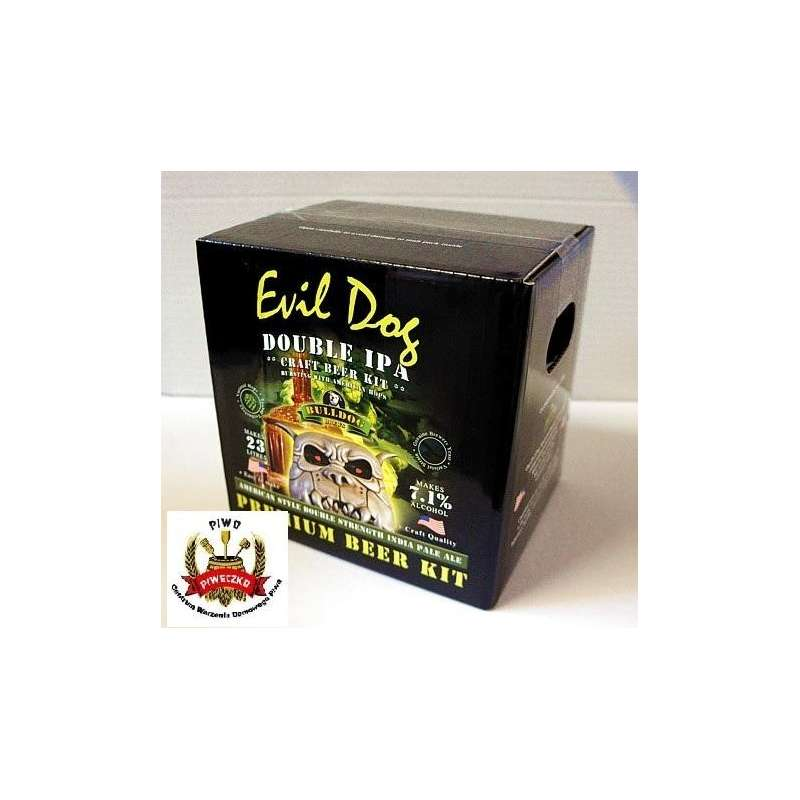 BULLDOG Craft  Evil Dog (Double IPA) brew-kit 4,7 kg (23 litry piwa)