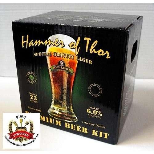 BULLDOG Craft  Hammer of Thor (Export Lager) brew-kit 4,0 kg (23 litry piwa)