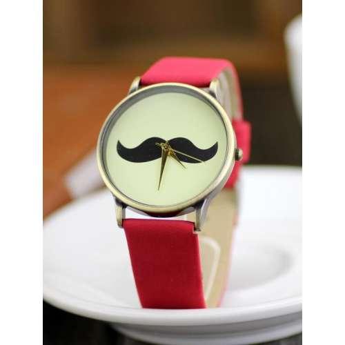 Zegarek na rękę WĄSY 6 kolorów