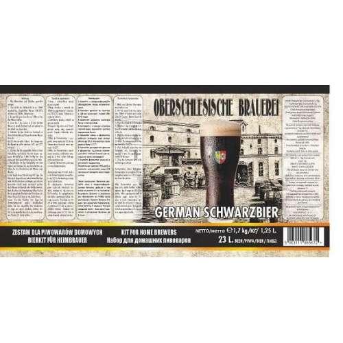 Oberschlesische Brauerei - German Schwarzbier