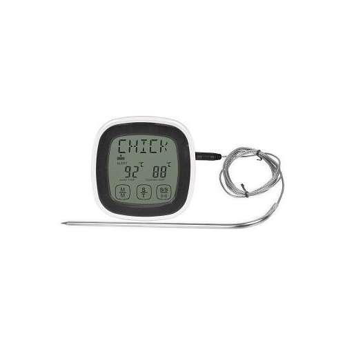 Elektroniczny termometr do żywności z minutnikiem.