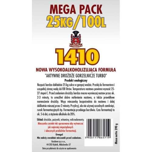 Mega Pack Gozdawa 1410/390g na 100 litrów