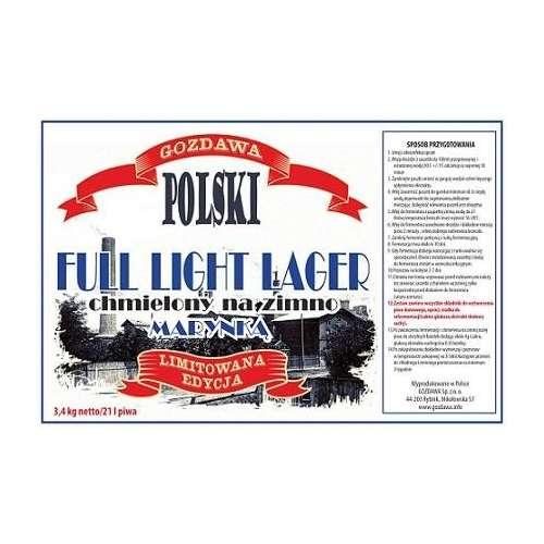 Polski Full Light Lager Limitowana Edycja