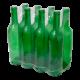 Butelka na wino 0,75l zielona 8 sztuk