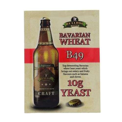 Drożdże piwowarskie Bulldog B49 Bavarian Wheat