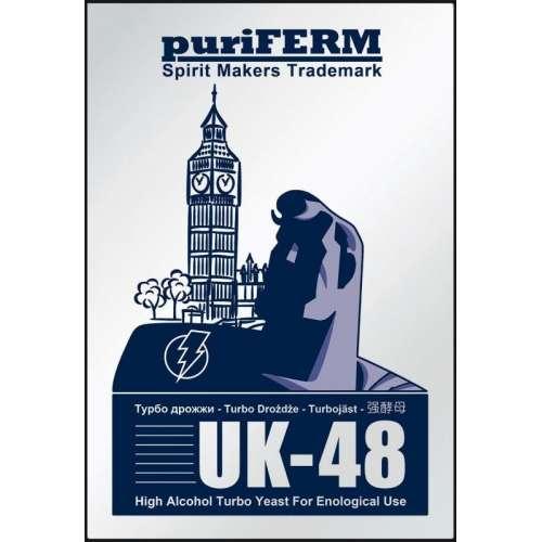Drożdże gorzelnicze puriFERM UK48