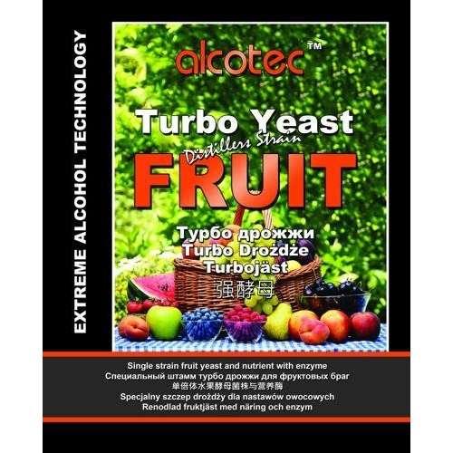 Drożdże gorzelnicze Alcotec Turbo Fruit - 60g
