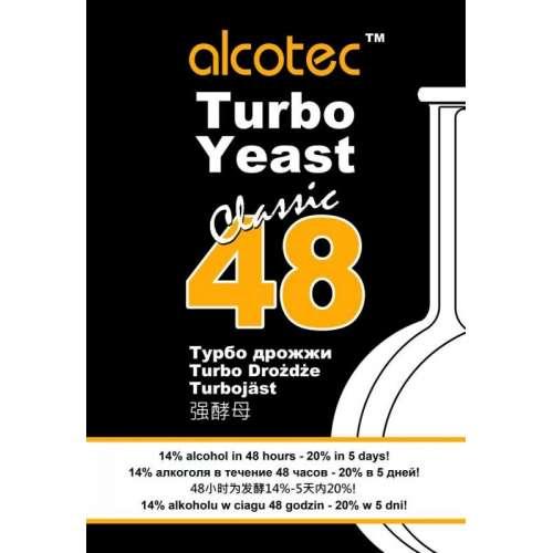 Drożdże gorzelnicze ALCOTEC 48 CLASSIC TURBO