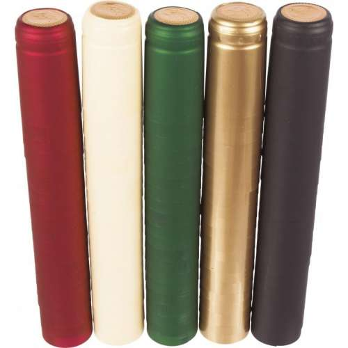 Kapturki termokurczliwe mix kolorów 100szt.