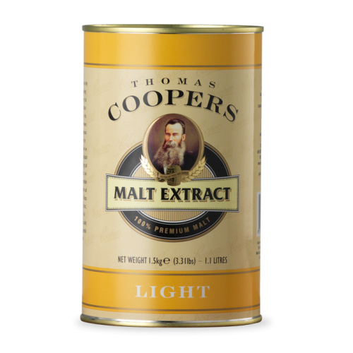 Coopers Jasny Ekstrakt 1,5 kg - LIGHT