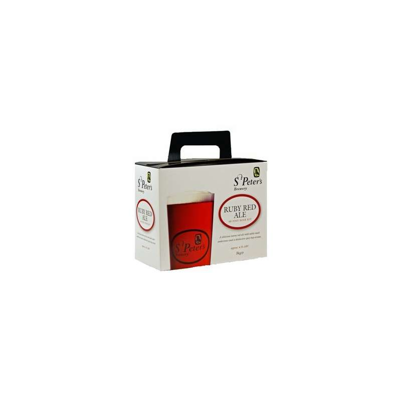 St. Peters Brewery - Ruby Red Ale - 3,0 kg