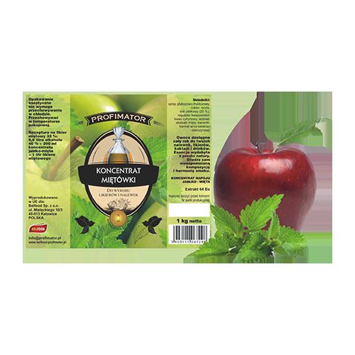 Koncentrat owocowy -  JABŁKO-MIĘTA Profimator