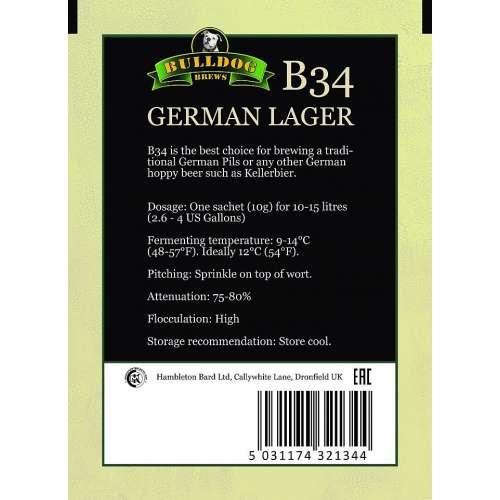 Bulldog - German Lager B34