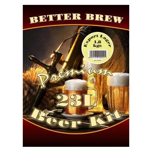 Better Brew Kit  Export Lager