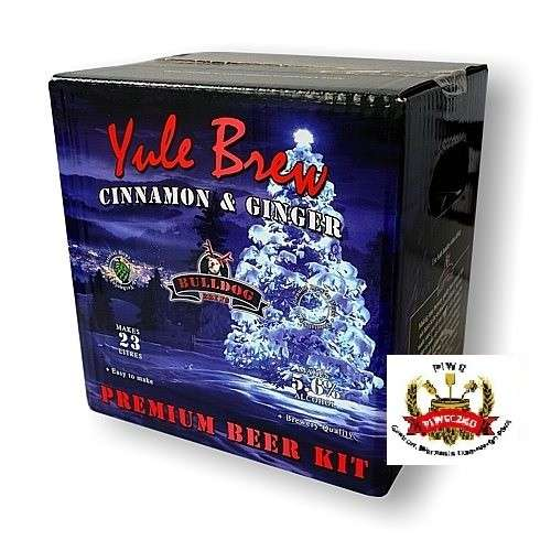 Bulldog Yule Brew Cinnamon&Ginger Beer Kit 3,8 kg - zestaw na 23 l piwa
