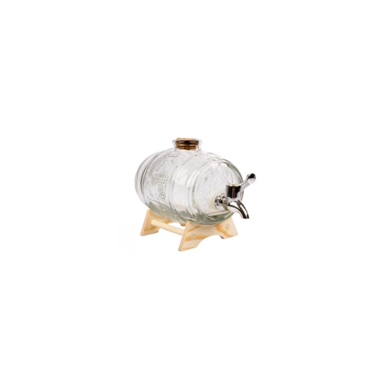 Beczułka szklana, karafka 450 ml Marzenie Nalewkarza