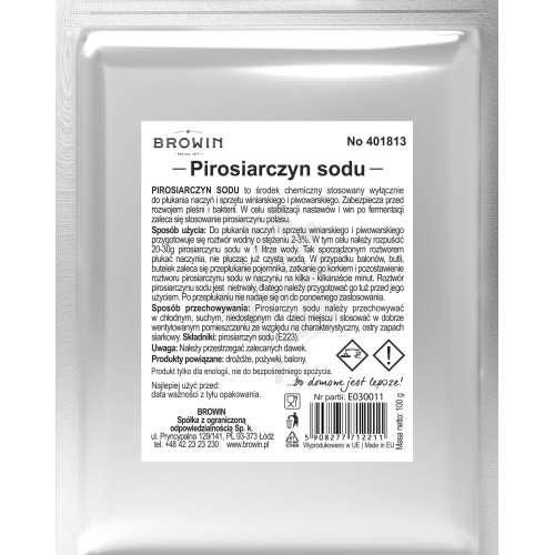 Pirosiarczyn sodu  - 100g