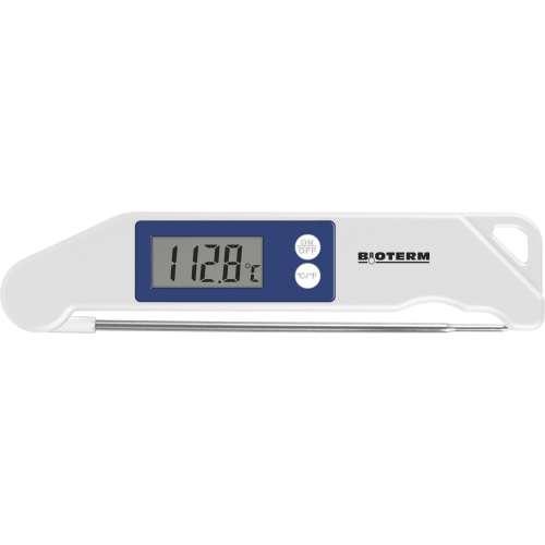 Składany elektroniczny termometr spożywczy - niebieski