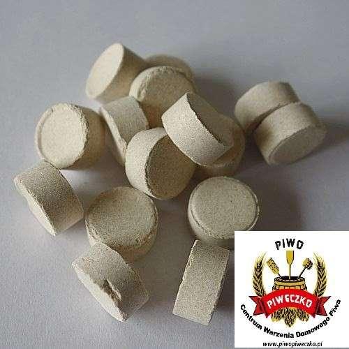 Whirlfloc T tabletki 1 szt - środek do klarowania gorącej brzeczki