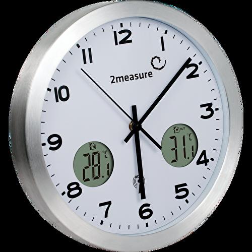 Zegar z bezprzewodową stacją pogody RCC