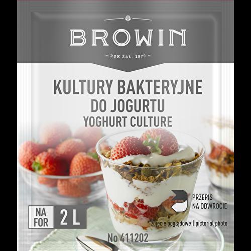 Kultury bakteryjne do jogurtu, na 4 L mleka