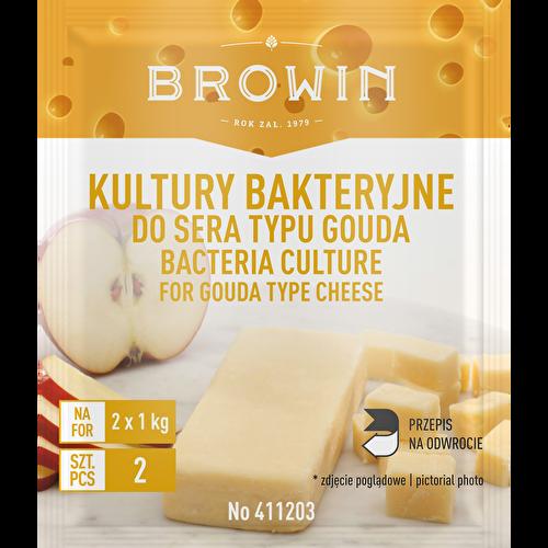 Kultury bakteryjne do sera typu gouda 2g