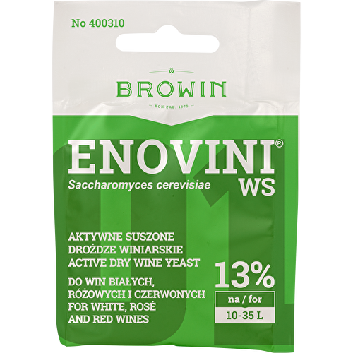 Drożdże Enovini WS do win stołowych