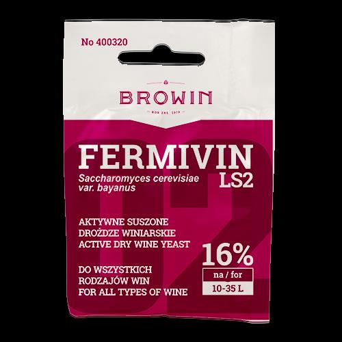 Drożdże suszone Fermivin LS2