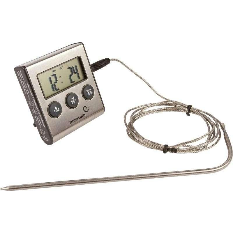 Termometr do żywności z sondą 0C -250Cm, 1,5m