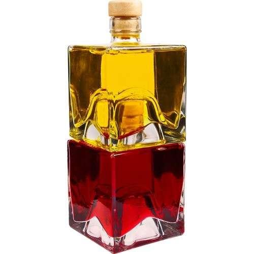 Komplet butelek do nalewek Bruno 500 ml - 2 szt Pomysł na  prezent