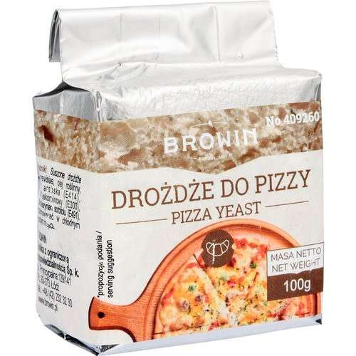 Drożdże do pizzy - 100g