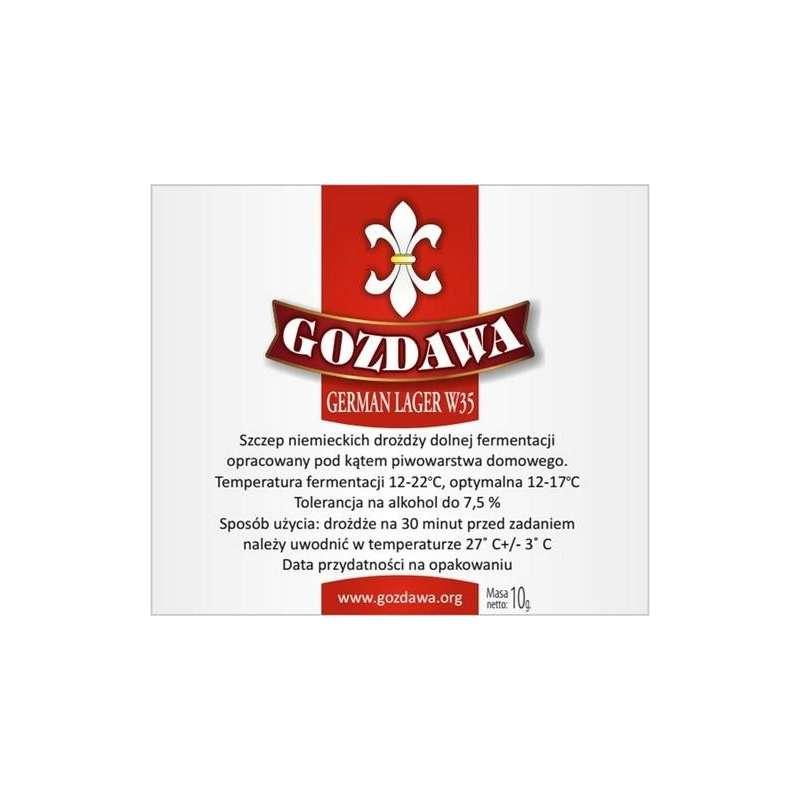 Gozdawa - German Lager W35 10g