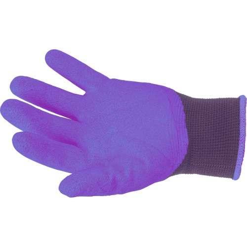 Rękawice ogrodowe z pazurkami - fioletowe