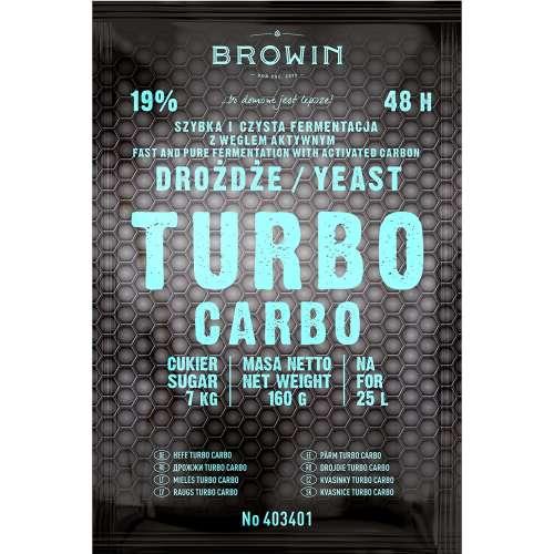Drożdże gorzelnicze TURBO Carbo