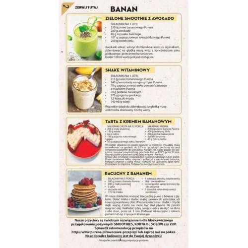 Przecier Puree Bananowe 100%