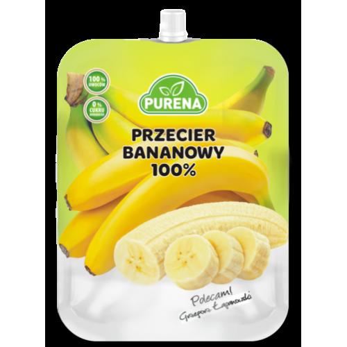 Przecier Puree Bananowe 100% 350g