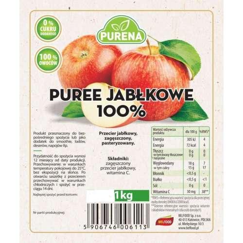 Przecier Puree Jabłkowe 100%  1kg