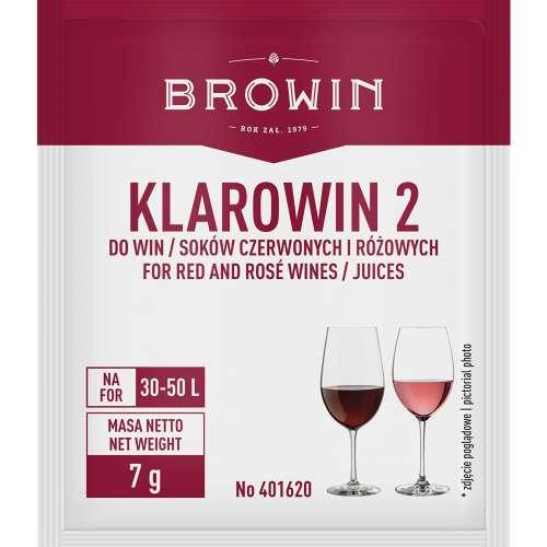 Klarowin2 - 7 g - do klarowania win czerwonych