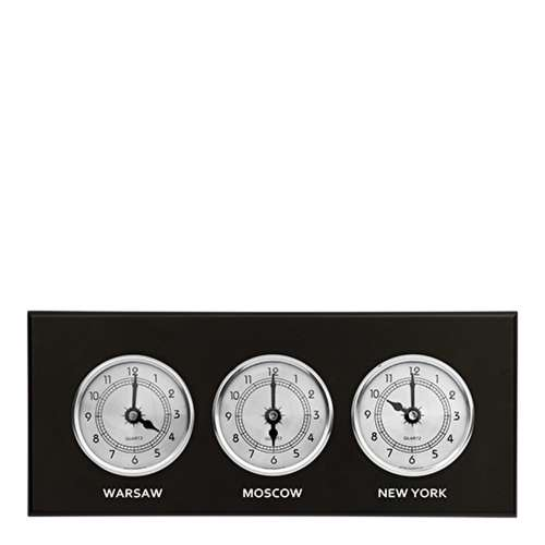Zegar 3 w 1 (srebrne tarcze)
