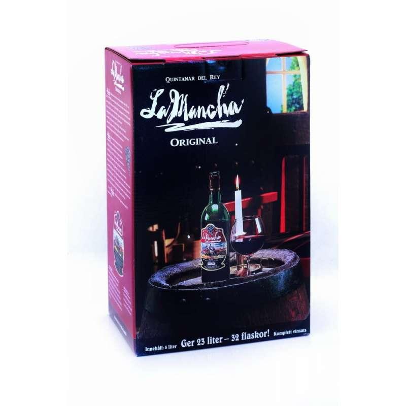 Koncentrat wina La Mancha BERGURION (czerwone)
