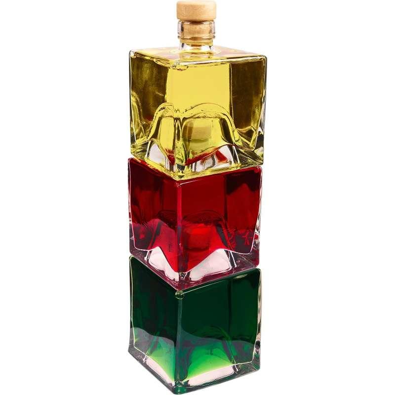 Zestaw butelek do nalewek 250 ml- 3 szt . Pomysł na  prezent
