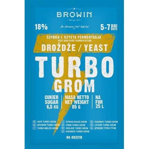 Drożdże gorzelnicze Turbo Grom 5-7 dni
