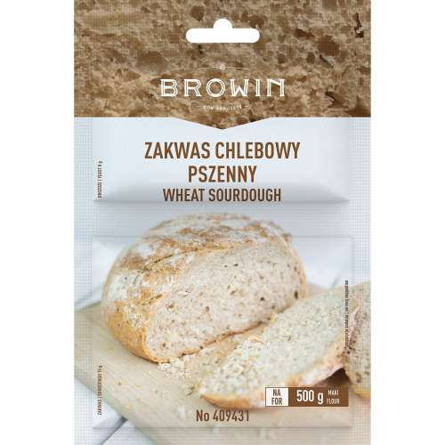 Zakwas chlebowy pszenny z drożdżami 23g